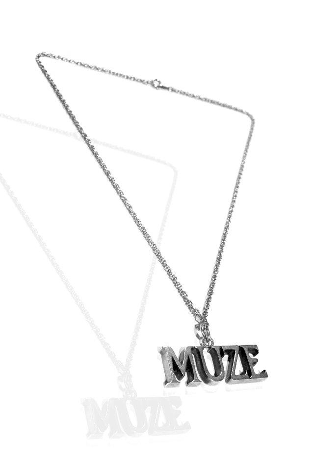 【先行予約アイテム限定商品】MUZE - MUZE LOGO necklace(SV925)