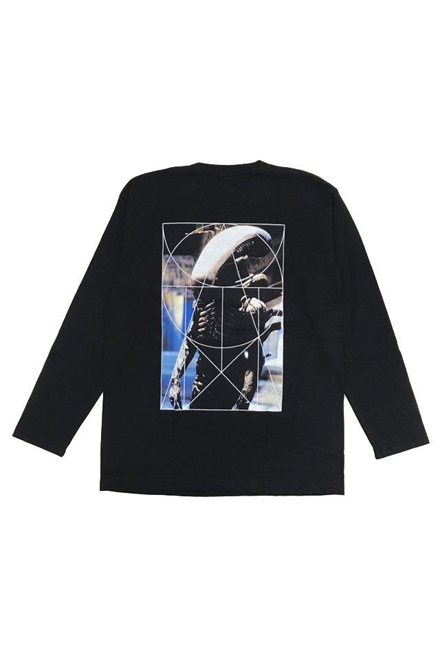 【coming soon】ALIEN×PRDX - GRAPHIC L/S TEE パラドックス シャツ