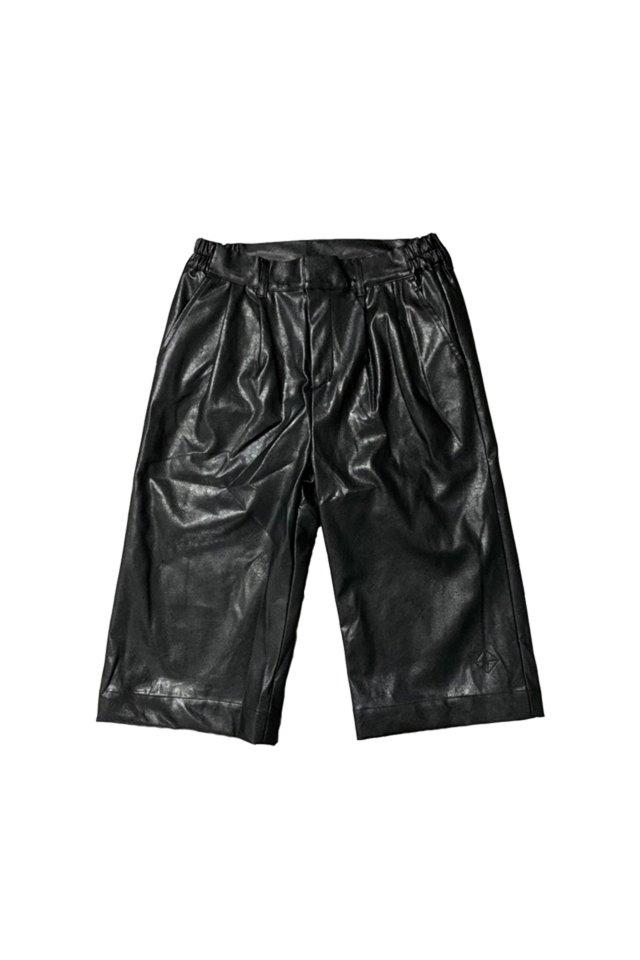 PARADOX-LEATHER PANTS(BLACK)