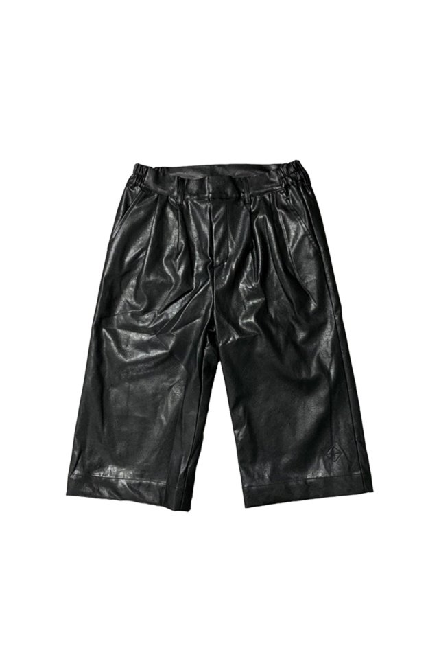 PARADOX-LEATHER PANTS(BLACK)
