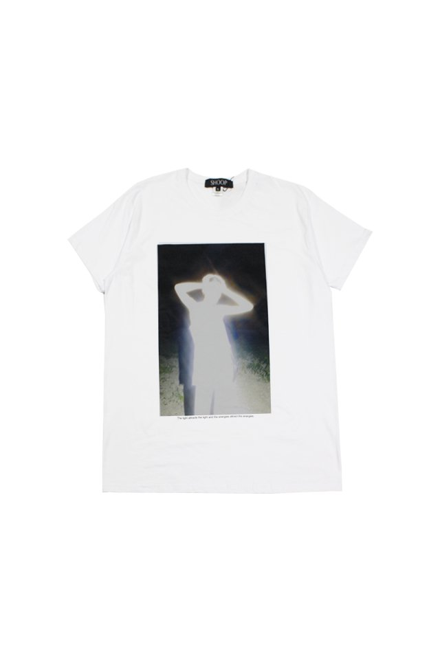 【20%OFF】SHOOP - BEING OF LIGHT T-SHIRTS (WHITE)