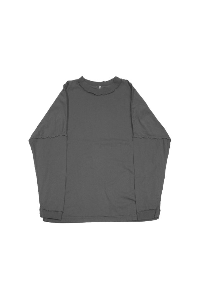 ETHOS - INSIDE OUT LONG TEE (SUMI)