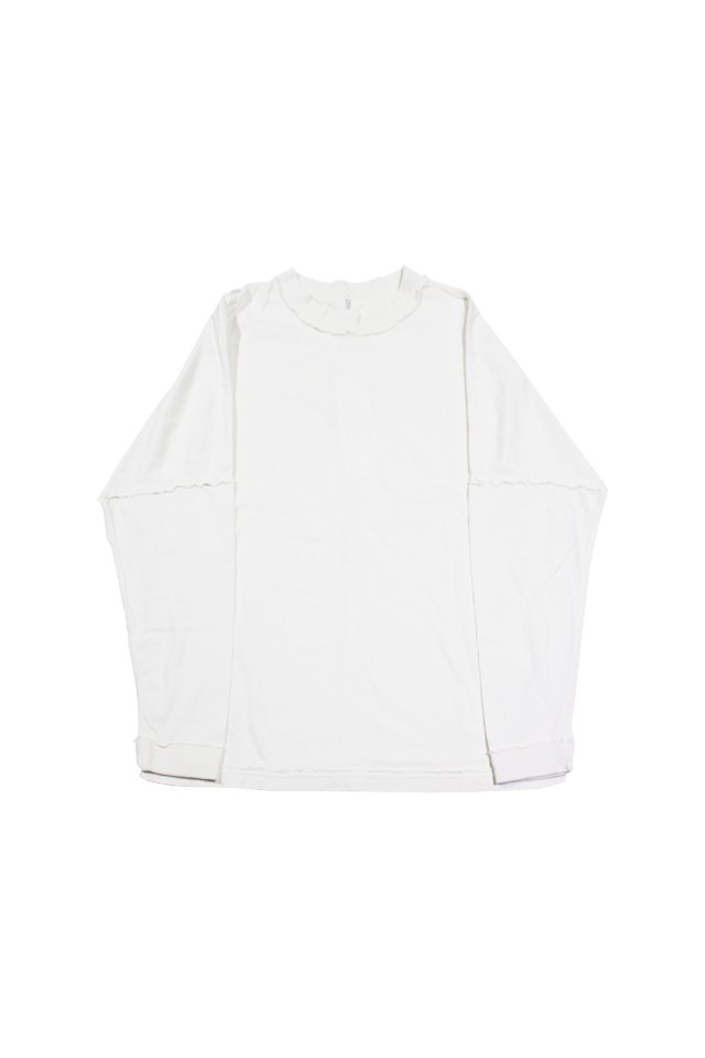 ETHOS - INSIDE OUT LONG TEE (WHITE)