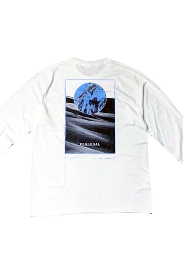 MUZE BLACK LABEL-PERSONAL L/S TEE(WHITE)