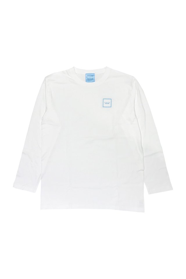 【coming soon】「オンライン限定受注」MUZE GALLERY - スーベニア刺繍L/S TEE(WHITE)