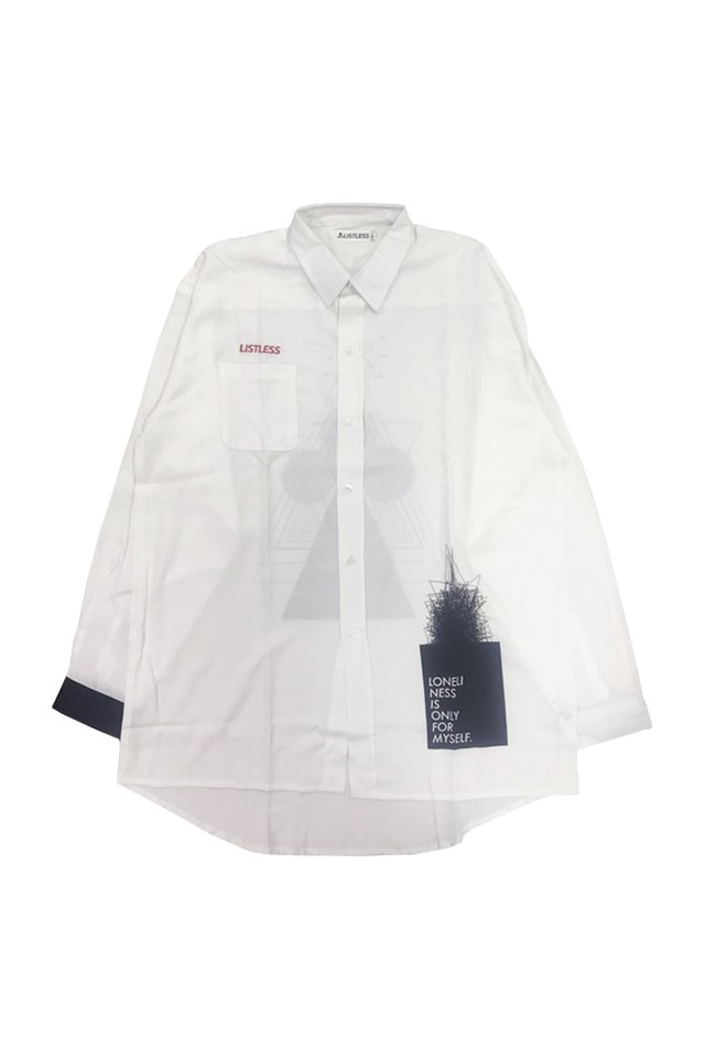 【coming soon】LISTLESS - LONG SHIRTS 「In mind」 リストレス シャツ