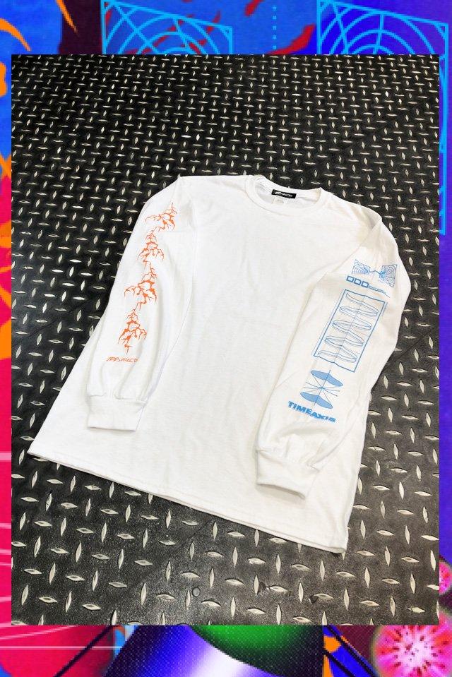 【受注商品11月上旬-中旬お届け予定】TIMEAXIS Long sleeve(WHITE)