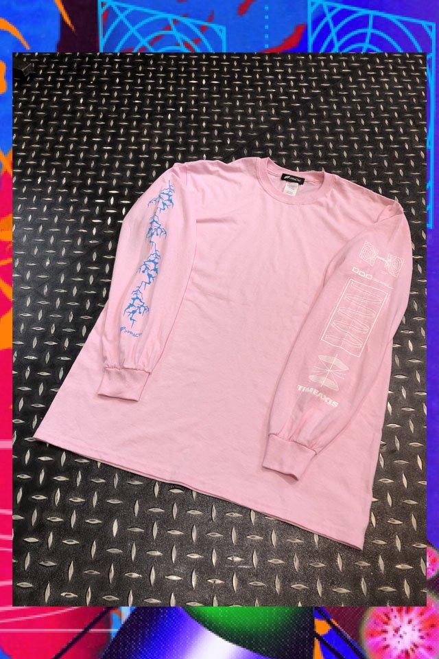 【受注商品11月上旬-中旬お届け予定】TIMEAXIS Long sleeve(Light pink)