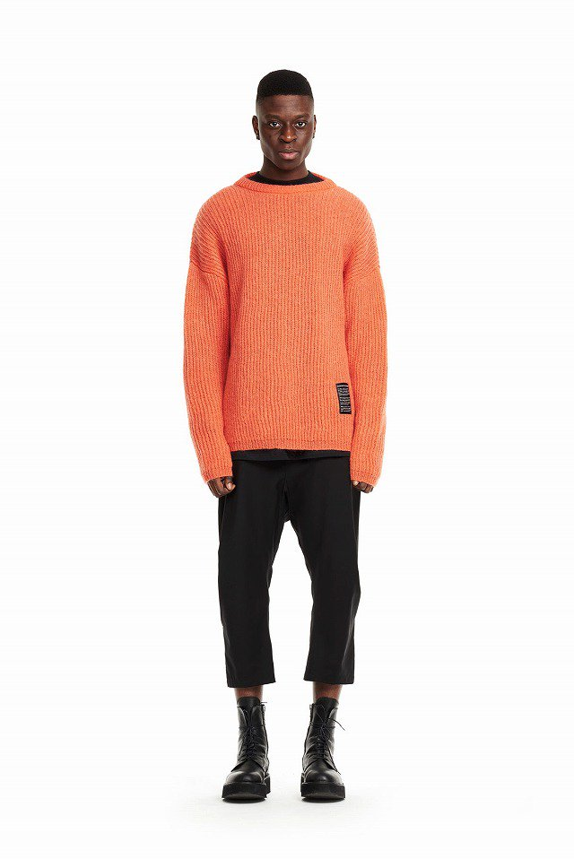 ODEUR - Knit Sweat (Signal Orange)