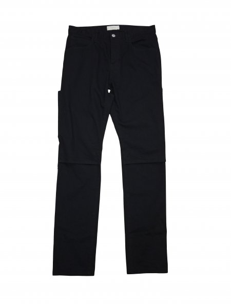 JieDa - 2WAY DENIM PANTS USED (BLACK USED)