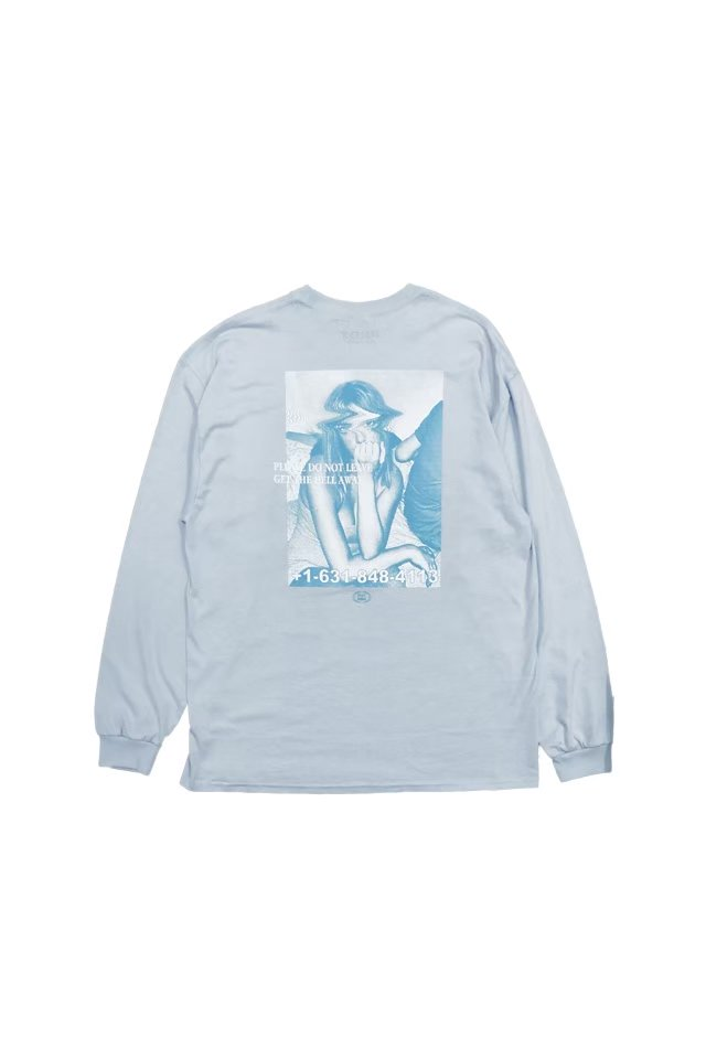 PARADOX - PLAY GIRLS L/S TEE(LIGHT BLUE)