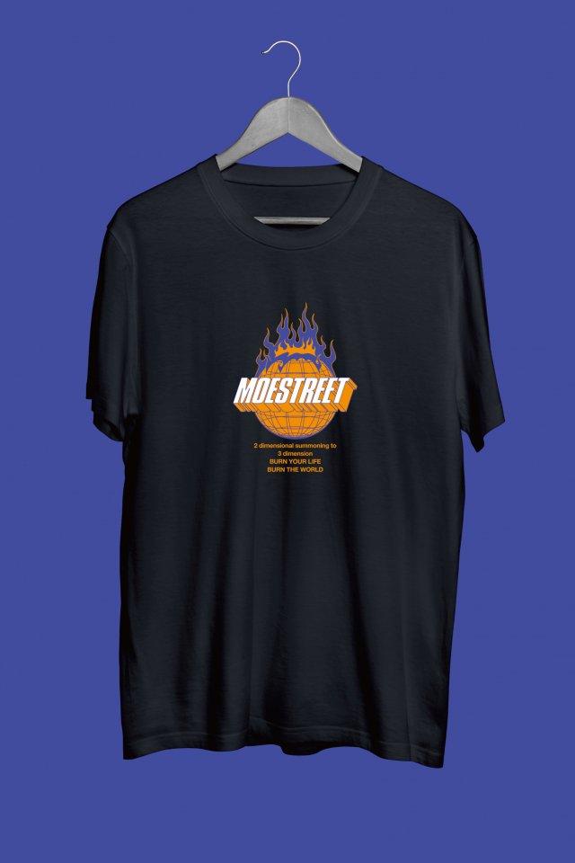 MOESTREET-Tshirt (BLACK)