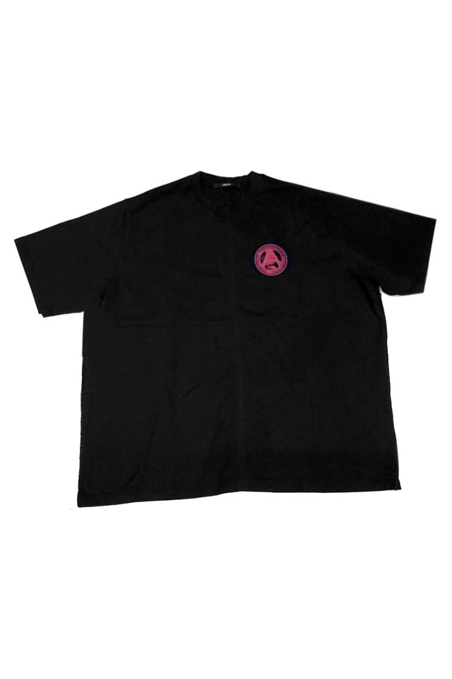 KOMAKINO - CLOCKWORK JERSEY T-SHIRT (BLACK) コマキノ F/W2019-20 collection