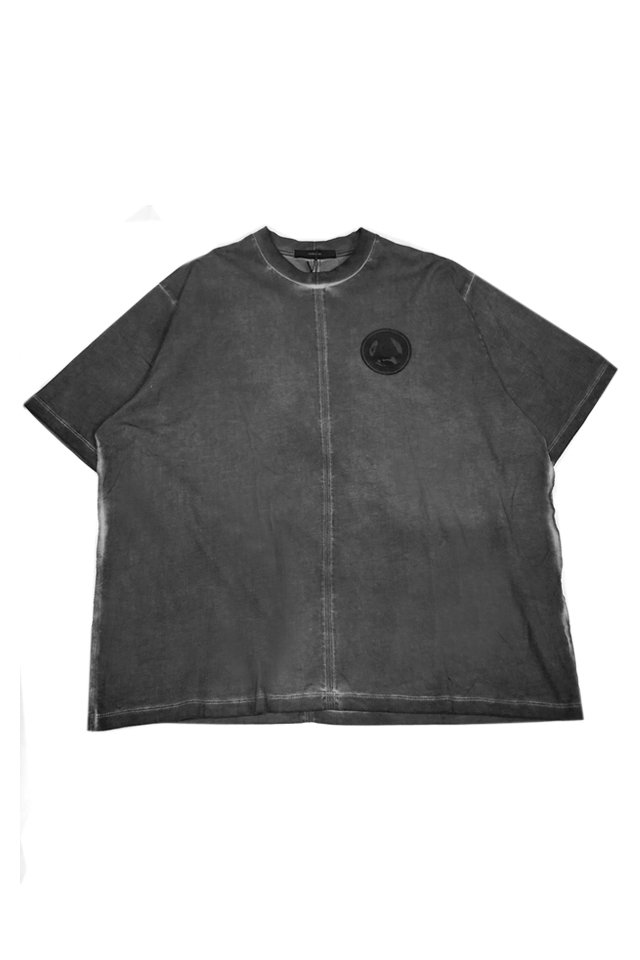 KOMAKINO - CLOCKWORK JERSEY T-SHIRT (GRAY SPACE DYE) コマキノ F/W2019-20 collection