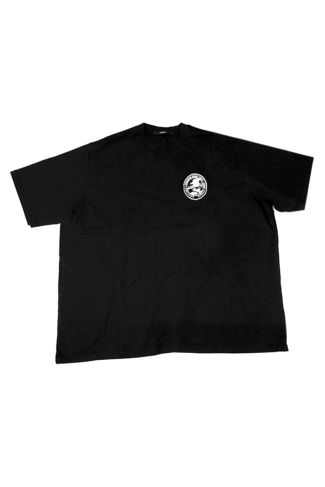 KOMAKINO - ANOTHER CRACK HEAVY JERSEY T-SHIRT (BLACK) コマキノ F/W2019-20 collection