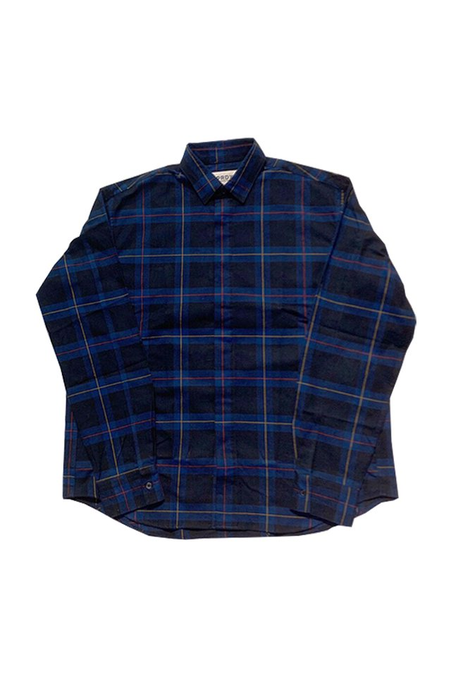 PARADOX - CHECK SHIRTS(BLUE)