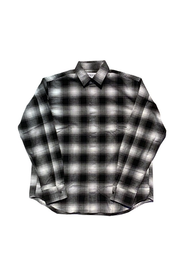 PARADOX - CHECK SHIRTS(BLACK)