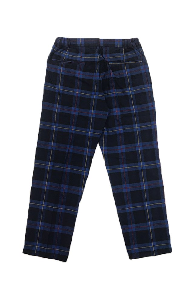 【20%OFF】PARADOX - CHECK SLACKS(BLUE)