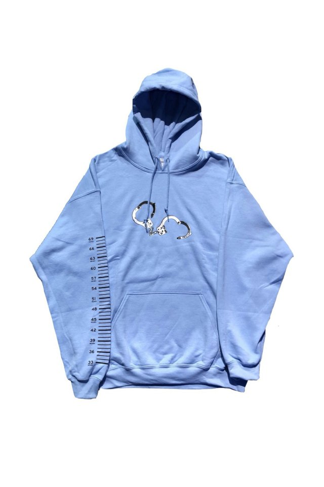 PARADOX - PULL PARKA(PUNISHED/L.BLUE)