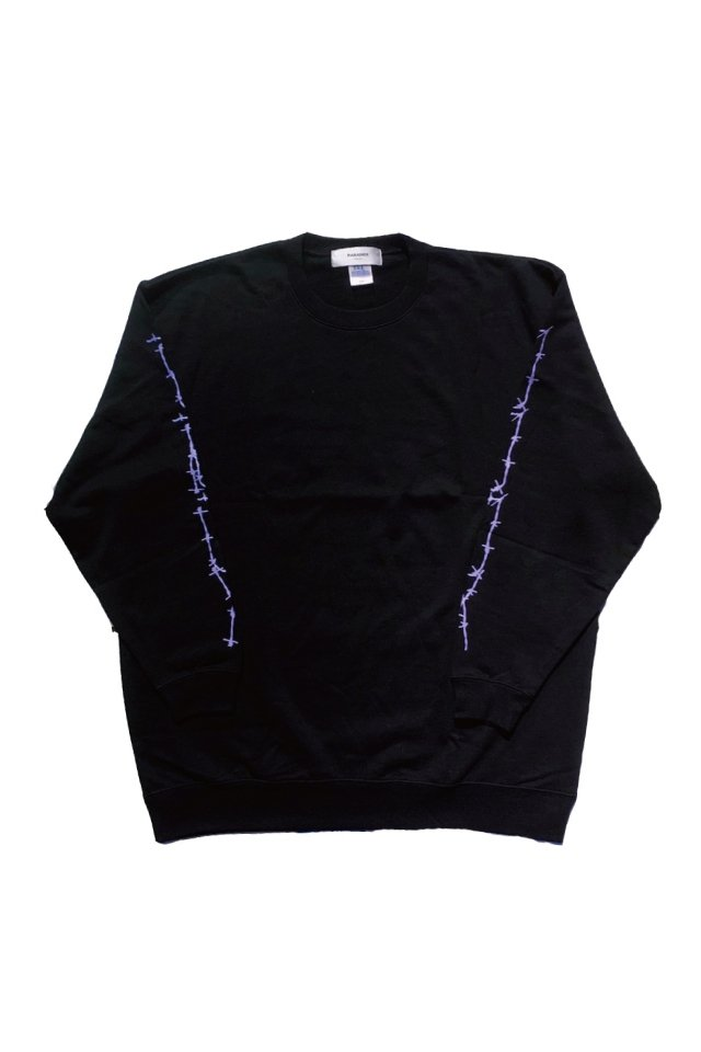 PARADOX - GRAPHIC SWEAT(EVIDENCE/BLACK)
