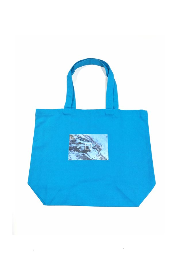 【MUZE GALLERY限定商品】MUZE GALLERY - The First Anniversary TOTE BAG(turquoise)