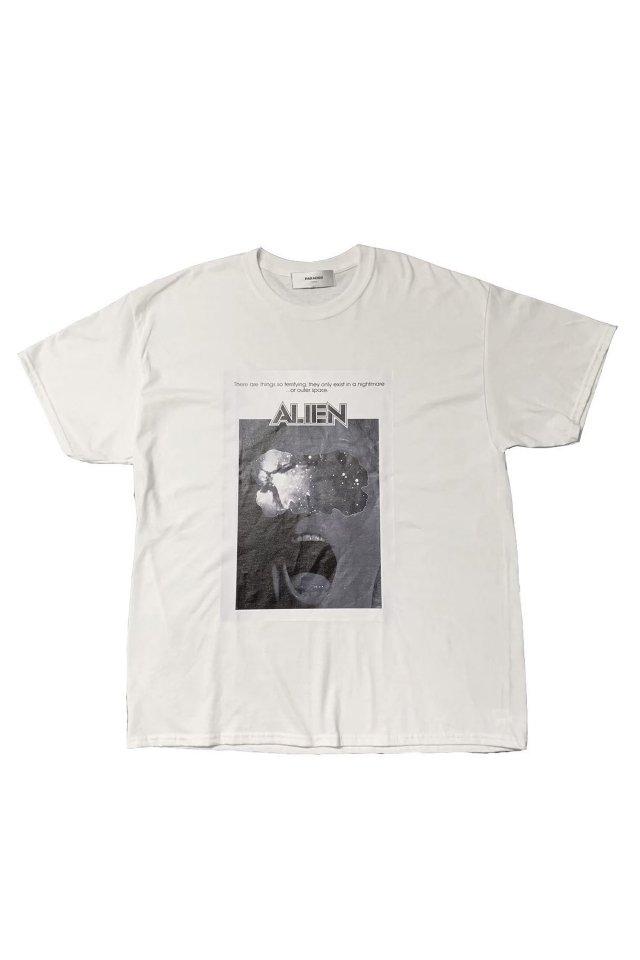 PARADOX×ALIEN - PRINT BIG TEE (WHITE)