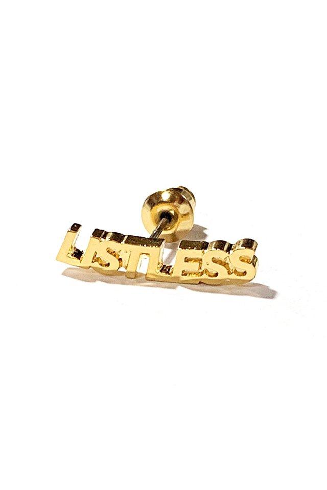 LISTLESS - PIACE (GOLD)