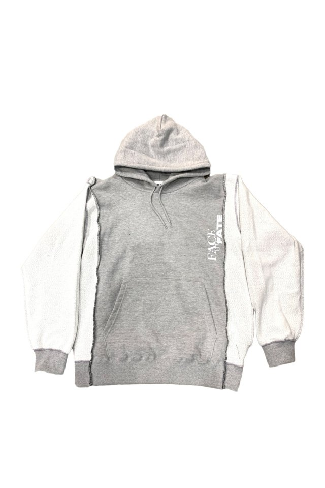 PRDX PARADOX TOKYO - INSIDE OUT PARKA「FACE TO FACE」(GRAY)