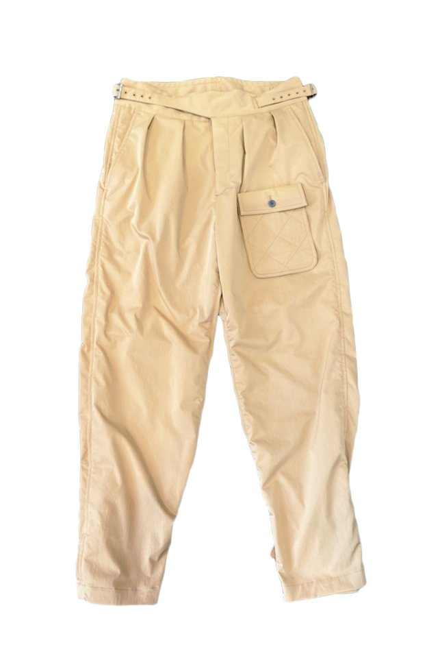 MUZE × MR.CLEAN × BRITISH KHAKI - GURKHA PANTS (BEIGE)