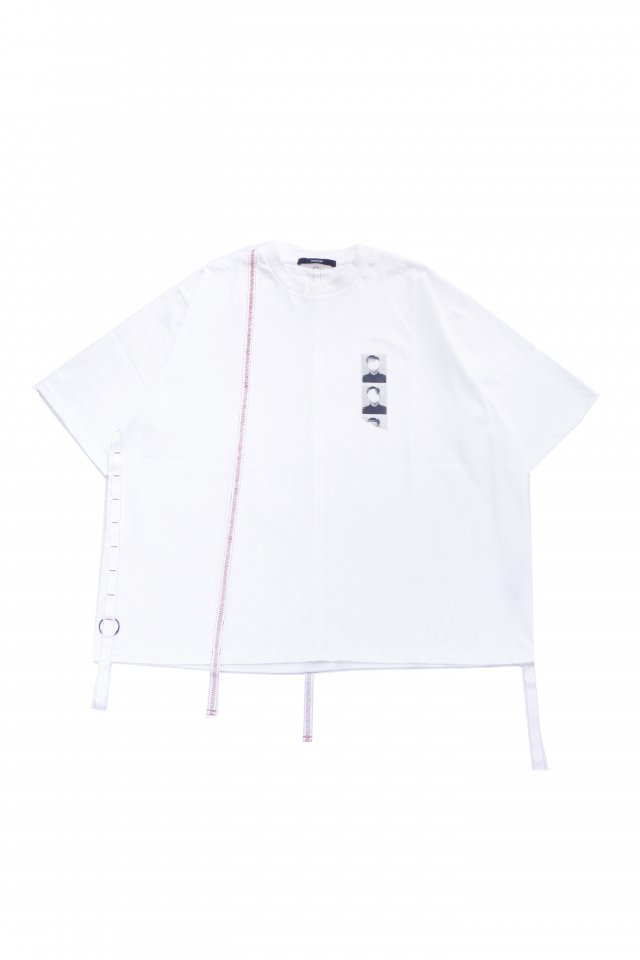 <img class='new_mark_img1' src='https://img.shop-pro.jp/img/new/icons1.gif' style='border:none;display:inline;margin:0px;padding:0px;width:auto;' />KOMAKINO - LOOPS T-SHIRT(WHITE) コマキノ S/S2020 collection