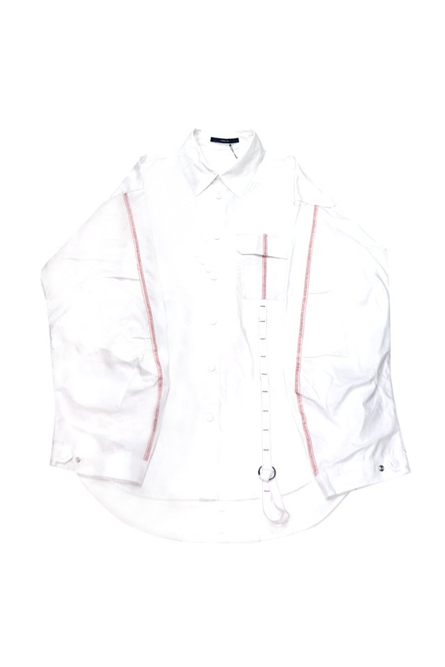 <img class='new_mark_img1' src='https://img.shop-pro.jp/img/new/icons1.gif' style='border:none;display:inline;margin:0px;padding:0px;width:auto;' />KOMAKINO - FIELD JACKET SHIRT(WHITE) コマキノ S/S2020 collection