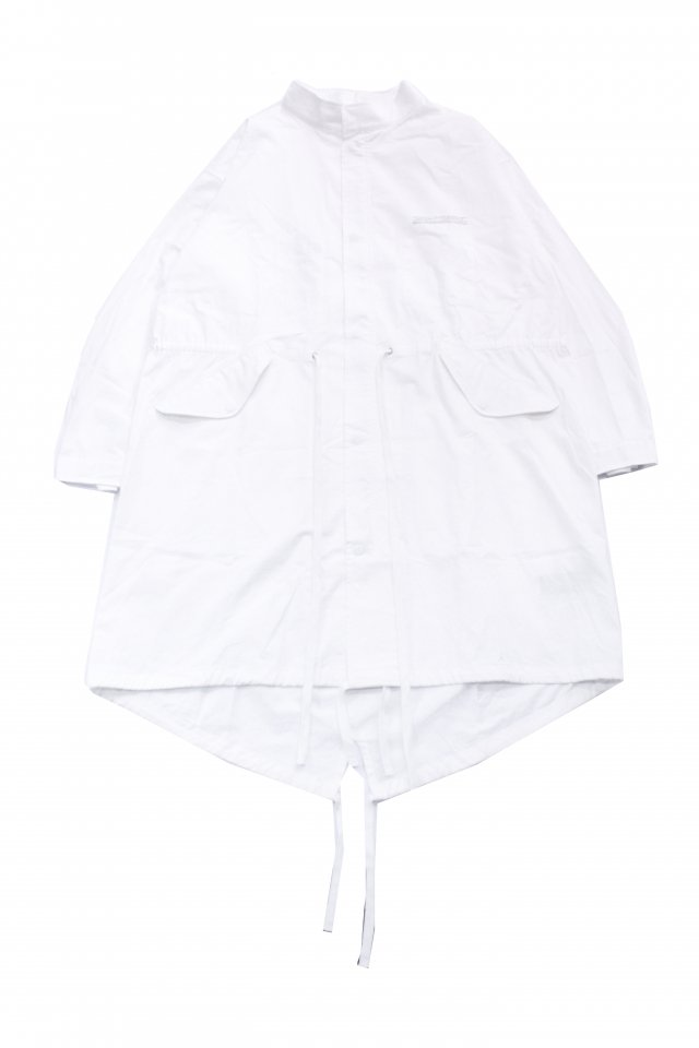 <img class='new_mark_img1' src='https://img.shop-pro.jp/img/new/icons34.gif' style='border:none;display:inline;margin:0px;padding:0px;width:auto;' />【40%OFF】KOMAKINO - PARACHUTE M-51 (WHITE) コマキノ S/S2020 collection