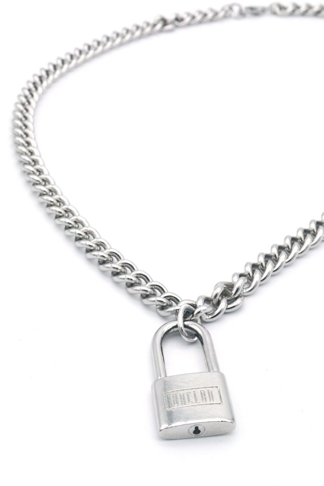 unclod - PADLOCK  NECKLACE(SILVER) アンクロッド パドロックネックレス