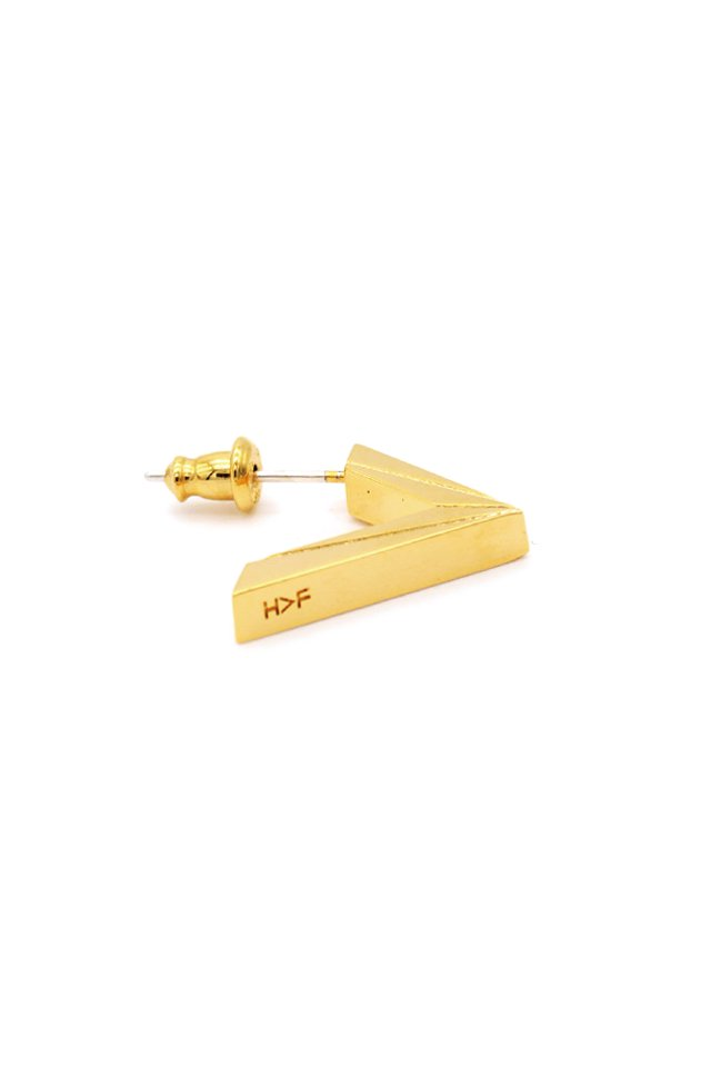 【受注商品】H>FRACTAL ORIGINAL TRIANGLE PIACE (GOLD)