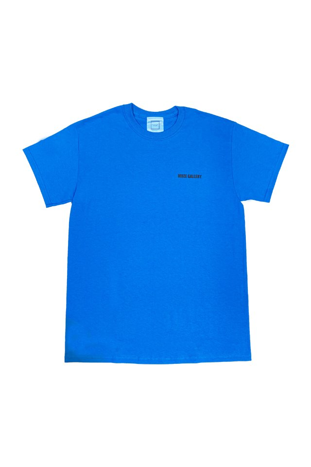 MUZE GALLERY - 20SS SOUVENIR S/S TEE(TURQUOISE)
