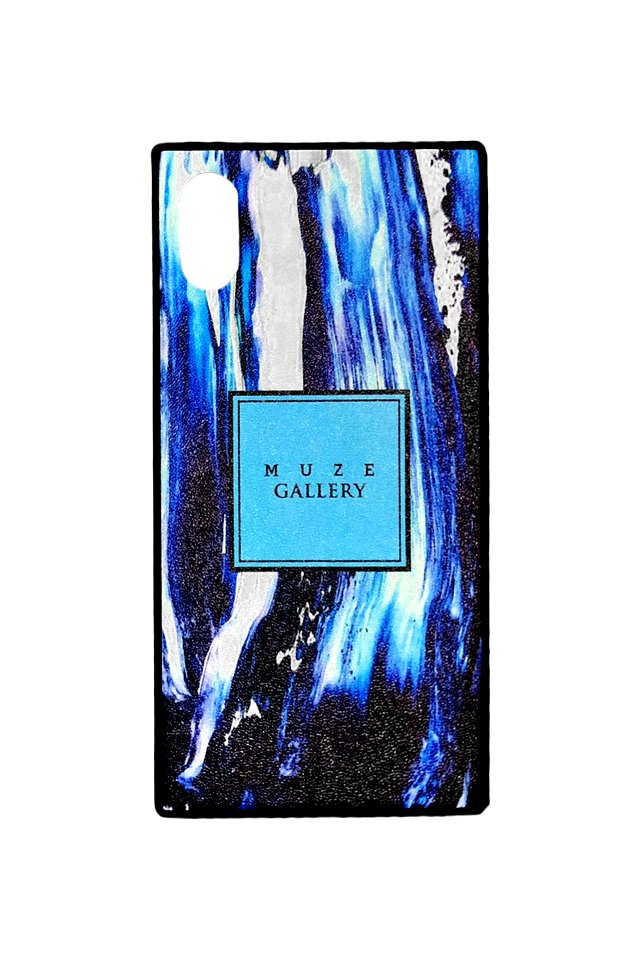 【受注商品】MUZE GALLERY - LEATHER SMART PHONE CASE(MARBLE TQS)