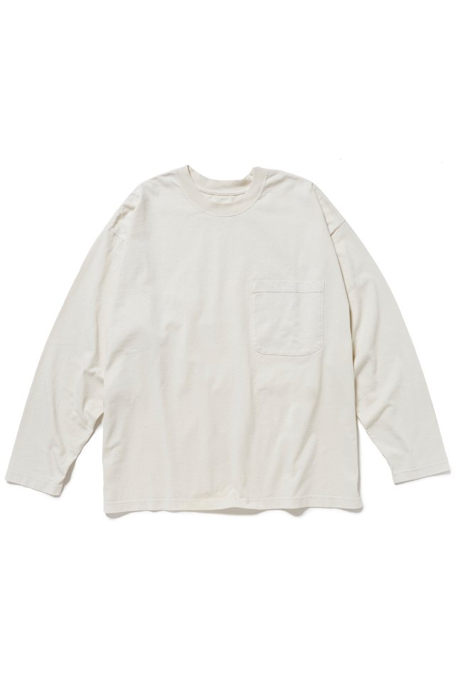 <img class='new_mark_img1' src='https://img.shop-pro.jp/img/new/icons34.gif' style='border:none;display:inline;margin:0px;padding:0px;width:auto;' />【10%OFF】ETHOS - STIFF LONG TEE (WHITE) エトス 2020年春夏コレクション