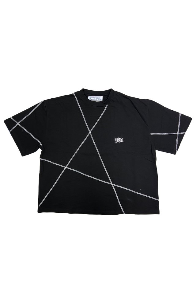 <img class='new_mark_img1' src='https://img.shop-pro.jp/img/new/icons34.gif' style='border:none;display:inline;margin:0px;padding:0px;width:auto;' />【20%OFF】LEGENDA® × PRDX PARADOX TOKYO - CCPY WIDE TEE(BLACK)