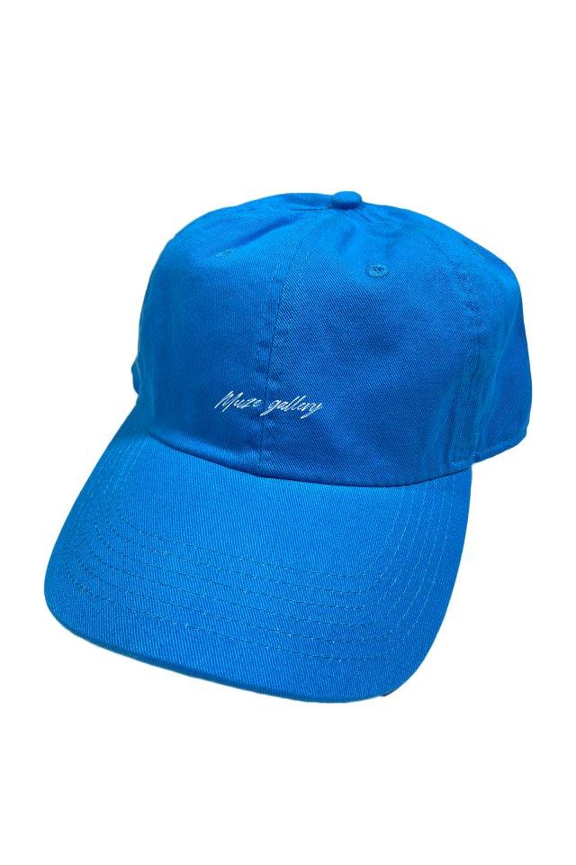 【受注商品5月中旬より順次お届け】MUZE GALLERY - SOUVENIR LOGO CAP (TURQUOISE)