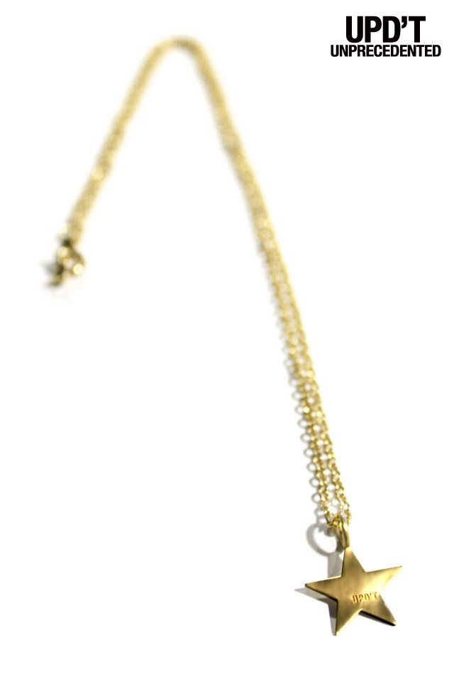 UPD'T - GOLD STAR NECKLACE
