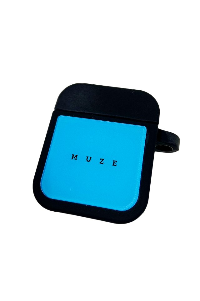 MUZE GALLERY - AirPods CASE (TURQUOISE)