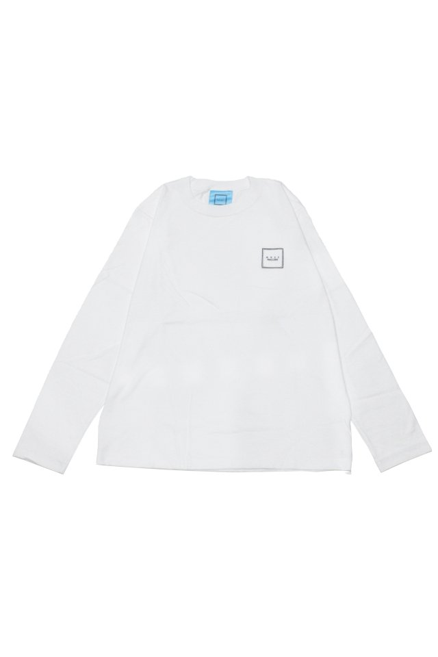 【MUZE GALLERY限定商品】MUZE GALLERY - スーベニア刺繍L/S TEE(WHITE)