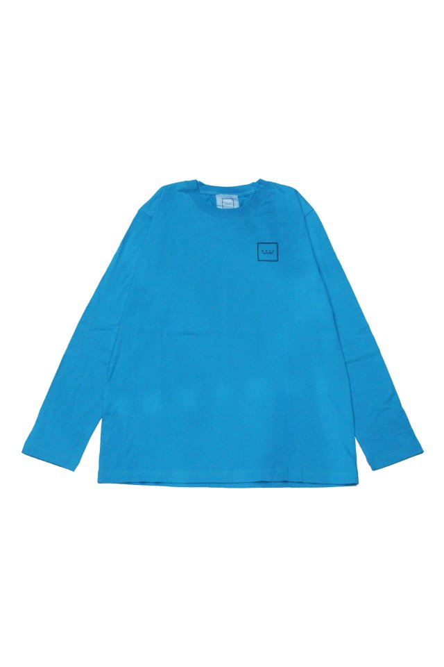 【MUZE GALLERY限定商品】MUZE GALLERY - スーベニア刺繍L/S TEE(TURQUOISE)