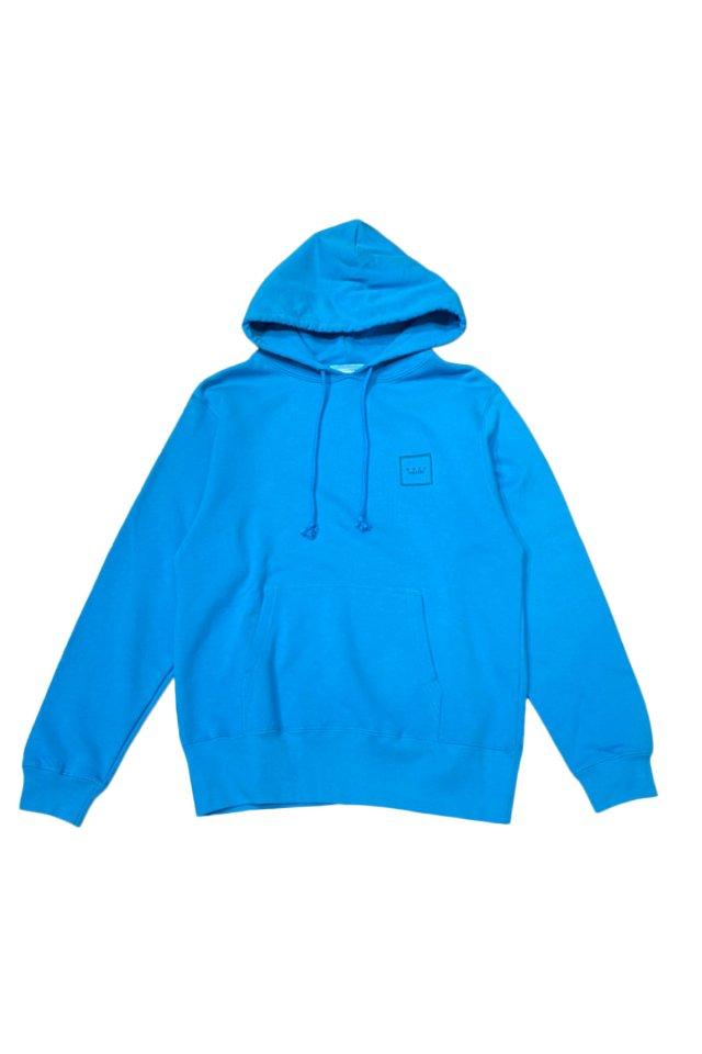 【MUZE GALLERY限定商品】MUZE GALLERY - スーベニア刺繍HOODIE(TURQUOISE)