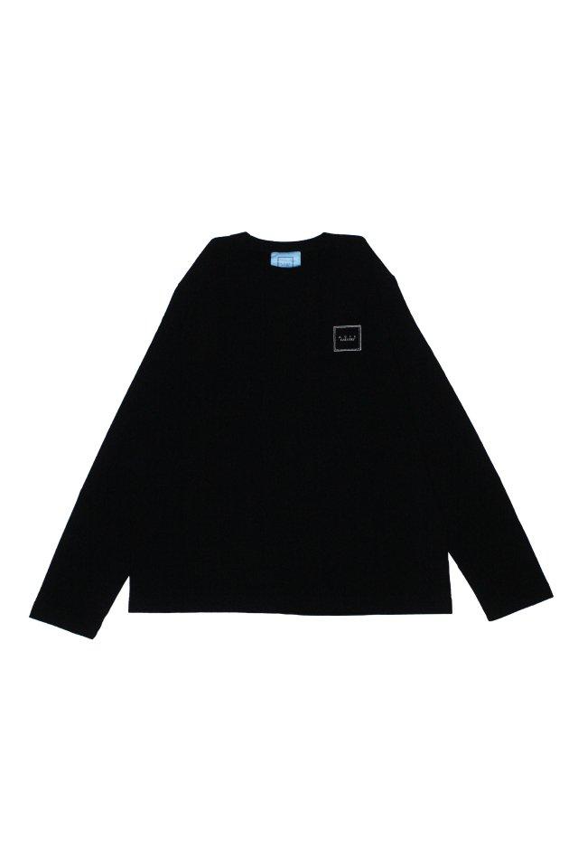 【MUZE GALLERY限定商品】MUZE GALLERY - スーベニア刺繍L/S TEE(BLACK)