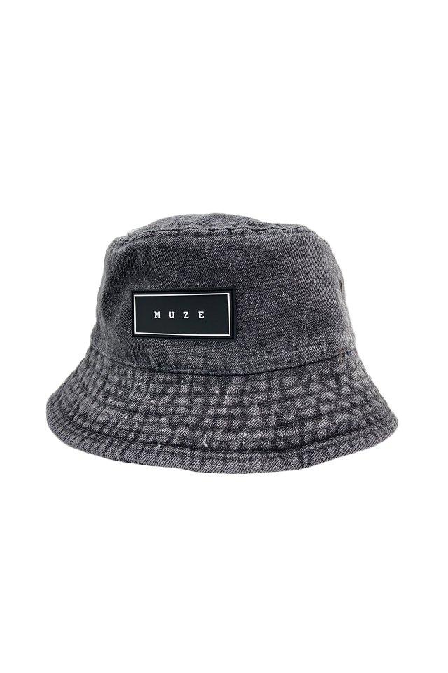 【5月上旬お届け予定先行予約商品】MUZE - BUCKET HAT (PIGMENT×BLACK)