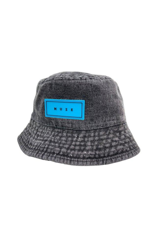 【5月上旬お届け予定先行予約商品】MUZE - BUCKET HAT (PIGMENT×TURQUOISE)