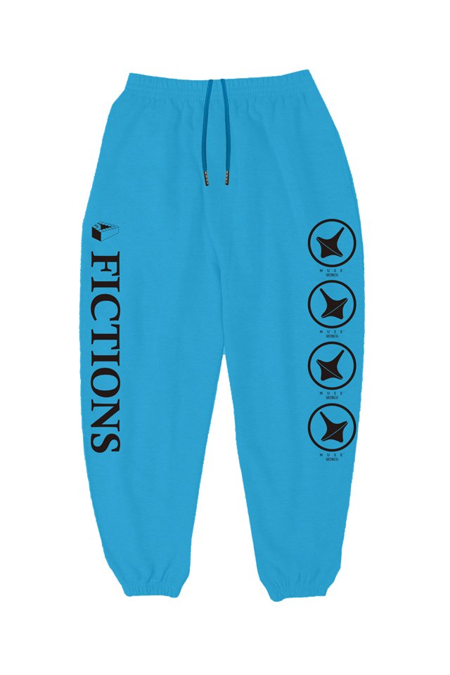 MUZE BLACK LABEL - TOTEM SWEAT PANTS(TURQUOISE)