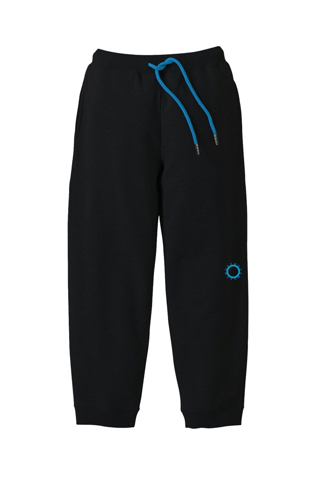 MUZE BLACK LABEL - CIRCLE LOGO SWEAT PANTS(BLACK)