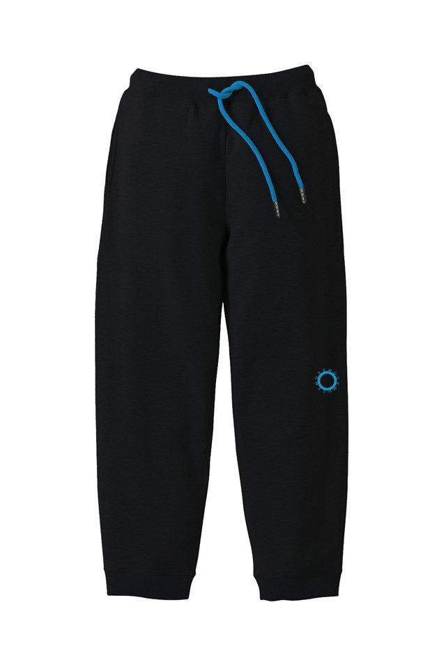 【6月上旬お届け予定先行予約商品】MUZE - CIRCLE LOGO SWEAT PANTS(BLACK)